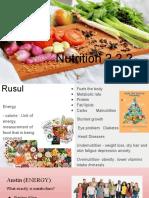 Block 1 - 2.2.2 Nutrition