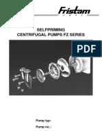 Fristam FZ Manual