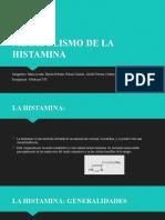 Metabolismo de La Histamina