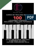100 Louvores Cifrados - Curso de Teclado Online