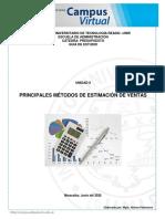 Presupuesto Principales Métodos de Estimación de Ventas