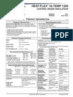 Sherwin Williams - Heatflex Hi-Temp 1200 Datasheet