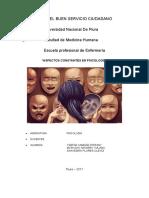 ASPECTOS CONSTANTES EN PSICOLOGÍA