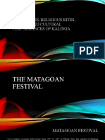 The Matagoan Festival of Kalinga