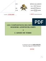 Compositions Des Differents Dossiers Administratifs