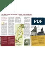 """Le """"pèlerinage"""" de Tordouet à Préaux Saint Sébastien"""