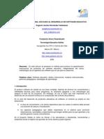 Diseño instruccional aplicado al desarrollo de software educativo