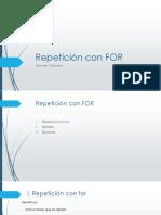RepeticionForExplicacionDetallada