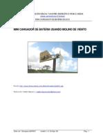 Cargador de pilas eolico