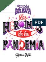 Mancha Brava. Heroinas de la Pandemia. B