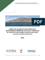 diseño de red de monitoreo de la biodiversidad marina