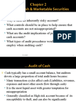 Acfn 3162 Ch 2 Audit of Cash and marketable securities FC