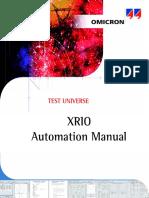 XRIO Automation Manual