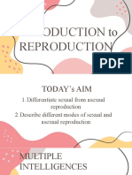 Intro to Reproduction
