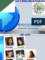 Orientation 2011
