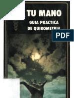 Blin Clement 'Tu Mano. Guia Practica de Quirometria испанский(много расчетов пальцев, измерений)