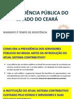 A PREVIDÊNCIA PÚBLICA DO ESTADO DO CEARÁ