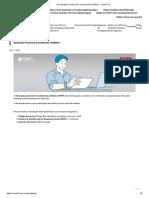 Declaração Provisória de Isolamento Profilático - COVID-19 2021