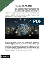 Ten trends of IoT in 2020 - InsideAIML