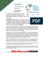 Regulamento Passatempo SexoRiscos Internet SID2021