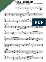 Opera Rinaldo - parts