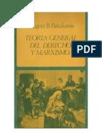 Pashukanis-Derecho y marxismo