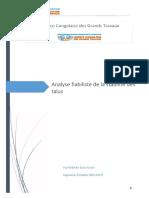 reflexion strategique_Calcul fiabiliste de la stabilité des pentes_UQLab