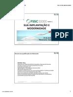 Indústria - 19.04.18 - Tarde - 01. FSCC 22000- SUA IMPLANTAÇÃO E MODERNIDADE - Nathália Lima