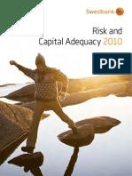Swedbank Risk and Capital Adequacy 2010