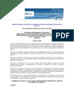 Normas Relativas a la Selección, Contratación y Remoción del Auditor Externo de los Bancos | Gaceta Oficial 39.622 | Resolución 065.11