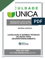 Legislação e Normas Técnicas do INCRA para Georreferenciamento