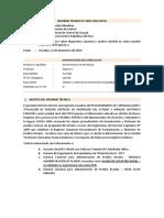 Informe Técnico n
