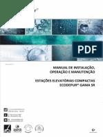MANUAL INSTALAÇÃO OPERAÇÃO MANUTENÇÃO EE SR rev2