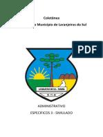 ADM ESPECIFICOS 3 - SIMULADO REL