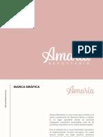 Manual de Marca - Amaría Repostería