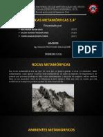 EXPO GEOTECNIA - GRUPO 4 (Rocas Metamórficas 3,4)