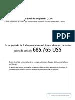 Calculadora del costo total de propiedad (TCO) _ Microsoft Azure