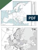Mapas de Europa Oriental y Central