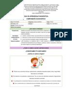Guía Diagnóstica de Español 3