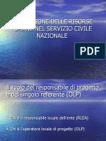 LA GESTIONE DELLE RISORSE UMANE NEL SERVIZIO CIVILE-