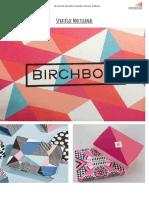 Stratégie multicanal - Birchbox