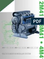 Hatz Diesel Engine 2M41 brochure