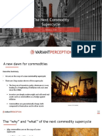 The Next Commodity Supercycle - October 2020