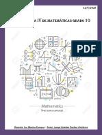 10 Solución Guia IV Matematicas