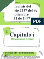 EXPOCISION DE IRIS, DECRETO Y LEY 115