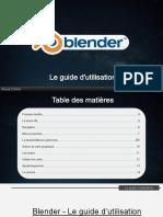 Blender 2.8 - Le guide d'utilisation 1