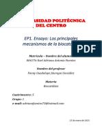 EP1. Ensayo-Itzel Adriana Antonio Fuentes