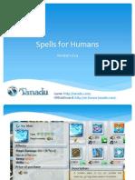 Spells for Humans 1.21.4