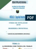 Presentación Tema 2 Seguridad Industrial