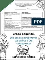 Guía Ciencias Sociales Grado Segundo..